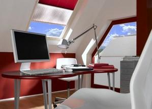 Farben für das Arbeitszimmer und Büro