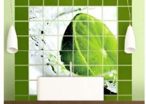 Fliesen in Bad und Küche aufpeppen