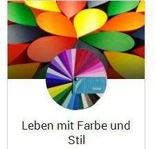 Leben mit Farbe und Stil gibt es jetzt auch bei GooglePlus