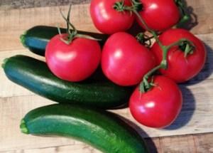 Kochen wie auf Mallorca mit Tomaten und Zucchini