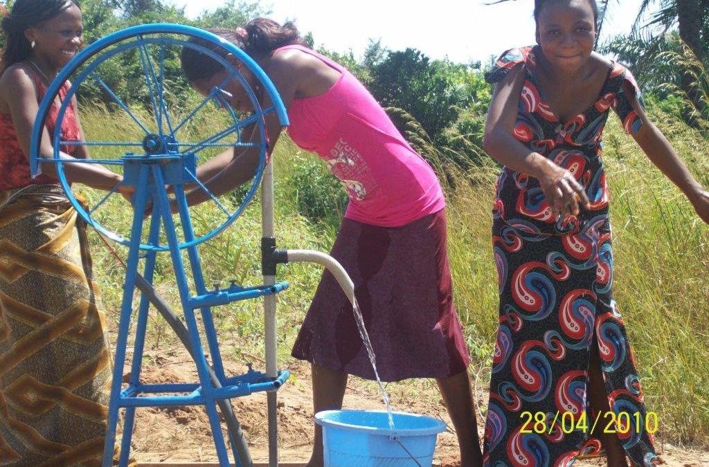 Unser soziales Engagement – Brunnen in Benin