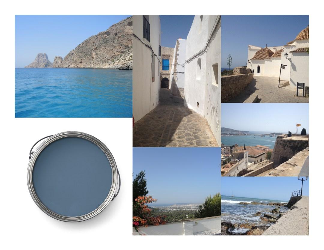 Ibiza blau