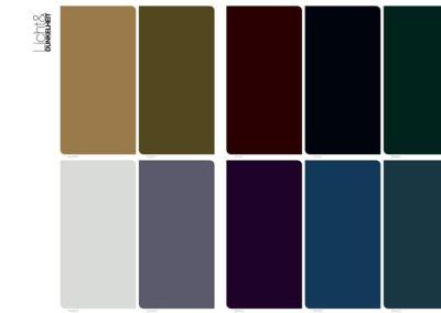 """Farbpalette """"Licht & Dunkelheit"""""""
