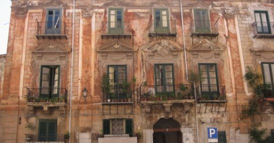 Fassade in Palermo