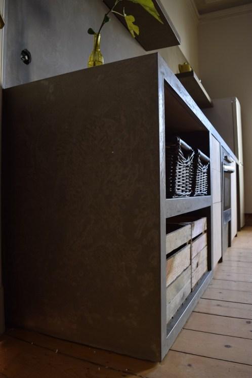 Küche selberbauen und verputzen