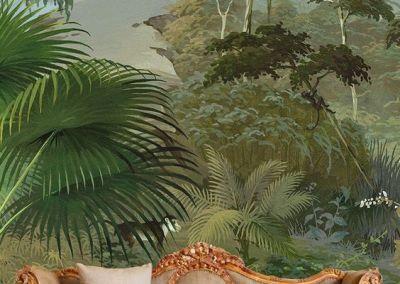 Blätterwald im Wohnzimmer