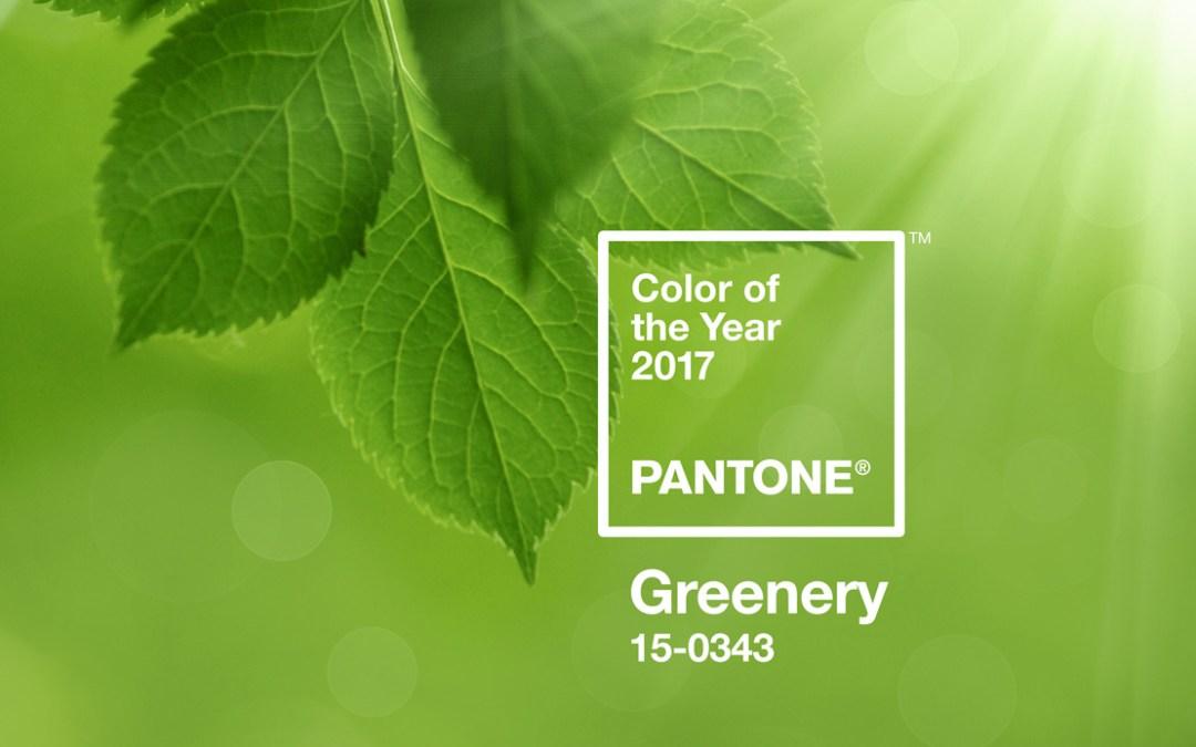 Die Farbe des Jahres 2017 – Greenery