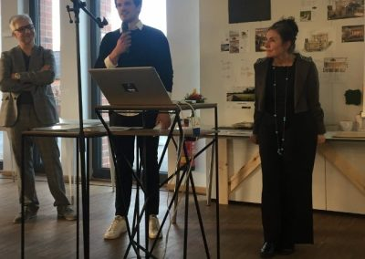 Nico Falck erklärt sein Projekt
