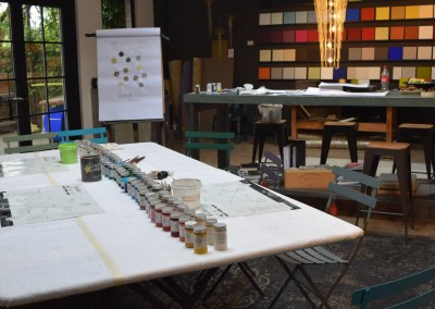 workshop über Raumgestaltung