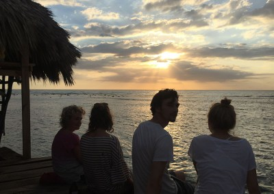 Sundowner in der Pelican Bar