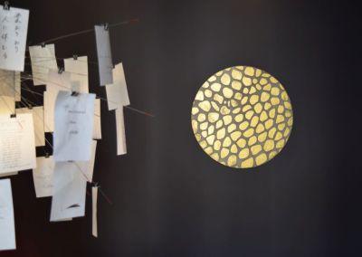 Esszimmer in kt.COLOR und Kunstobjekt