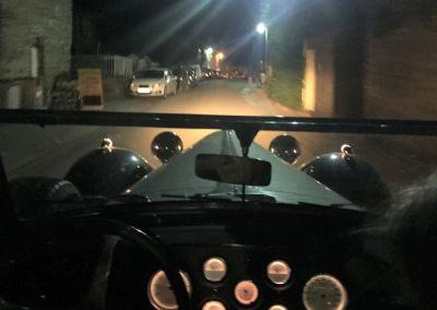 im Bugatti durch die kleinen Sträßchen