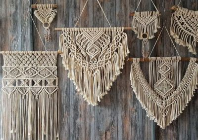 Textilkunst Makramee Trend 2019