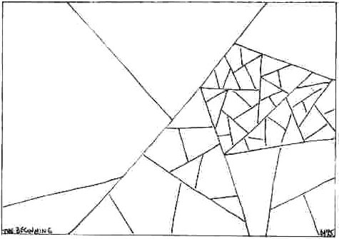 Straight Line Art Patterns