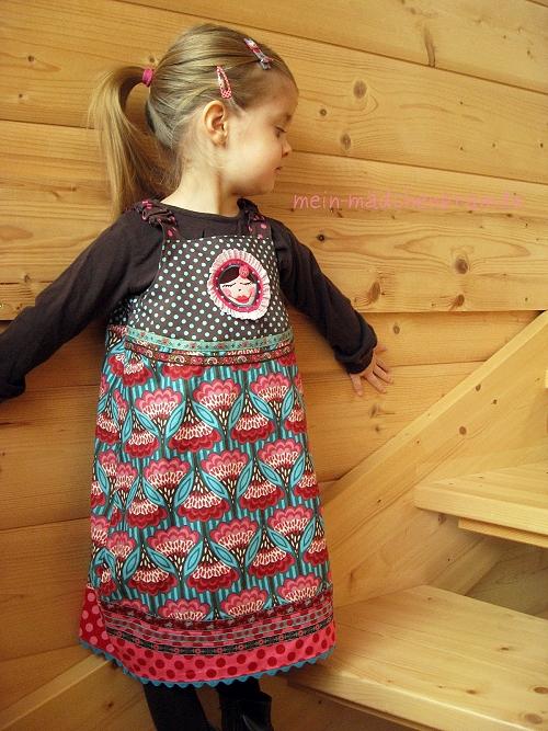 Kleid Schnittmuster Madita, Anleitung farbenmix