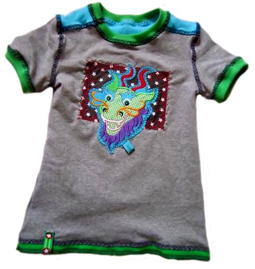 HILDE Schnittmuster Shirt farbenmix Jungs