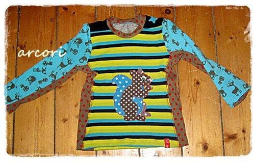 HILDE Schnittmuster Shirt Jungs farbenmix