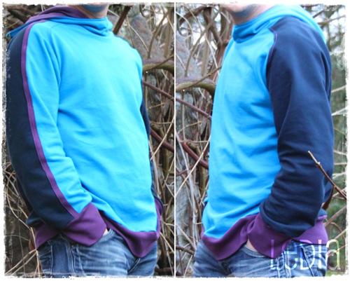 YORIK Schnittmuster Pullover Shirt Mann Herren farbenmix