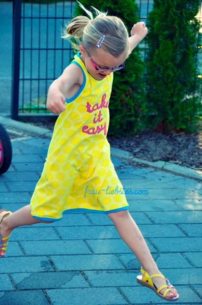 WHITNEY Kleid Mädchen Schnittmuster farbenmix