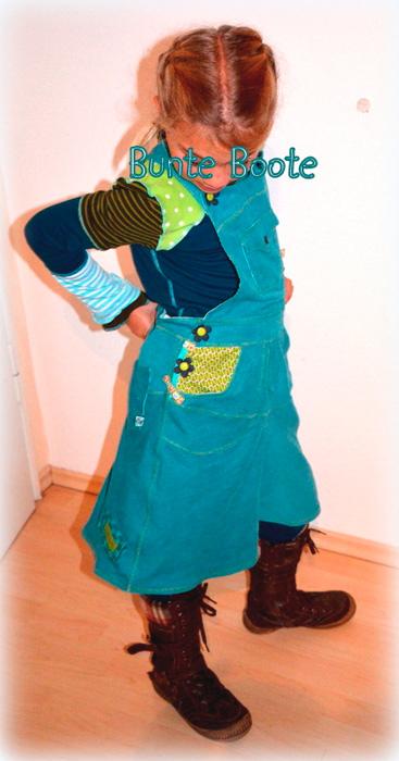 LOTTE Kleid Schnittmuster nähen farbenmix