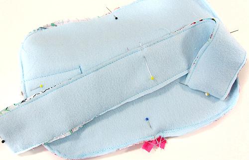 Tipps zum Nähen des Taschenspieler-Kosmetikoffer