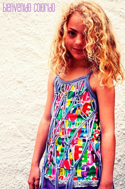 Shirt oder Kleidchen nach dem Kreativ-Ebook La Jolla von farbenmix nähen und spenden