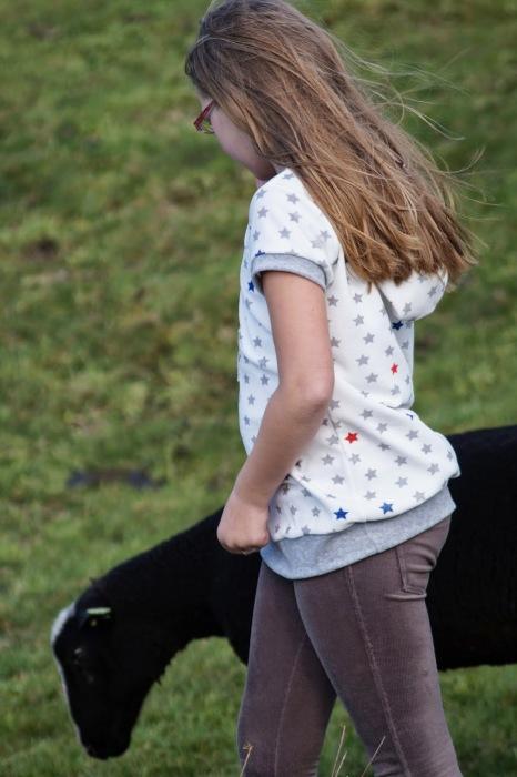 Rosita farbenmix Shirt mit Kapuze