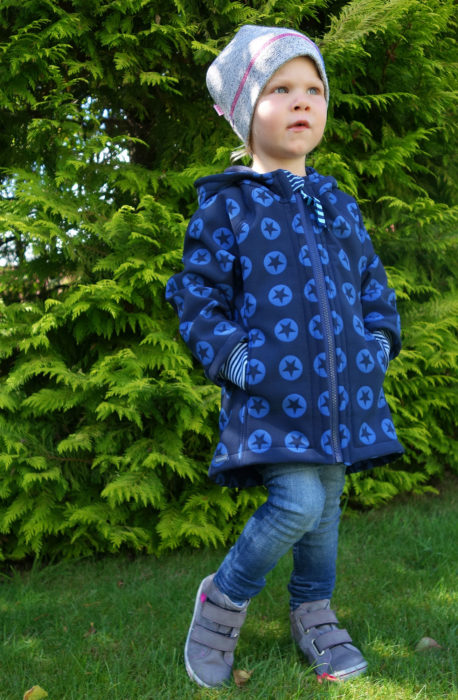 Kinderjacke Softshell