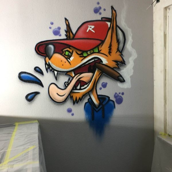 Fox Graffiti Wesel