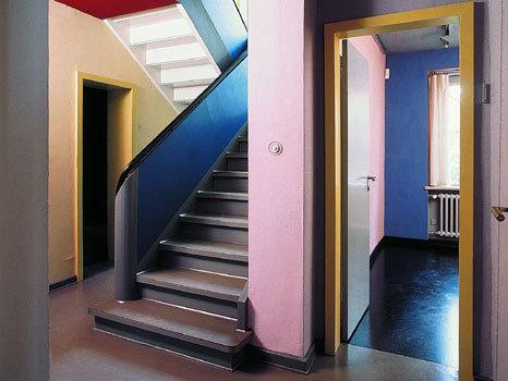 Bauhaus Wohnzimmer Farben