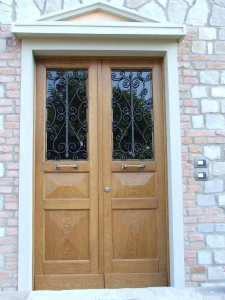 Porte dingresso in legno  Farb Snc