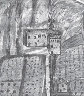 disegno della cartiera di O.P. a San Lazzaro di Fossombrone