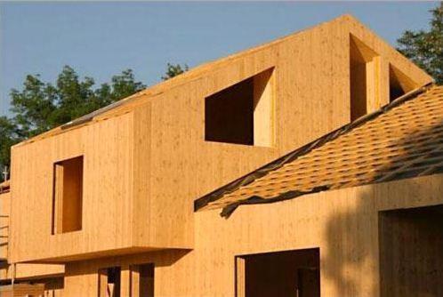 Costruire un nuovo edificio con parete in Xlam