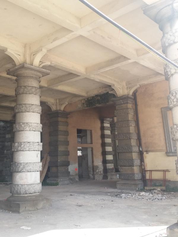 dettaglio da restauro ex foro boario prato della valle padova