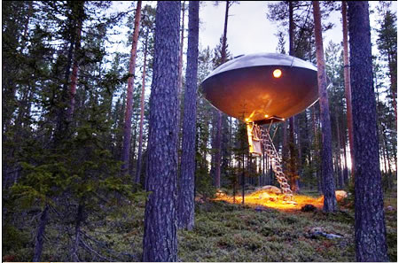 Treehotel Ufo Room Is All You Need For A Comfortable