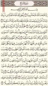 Holy Quran - Moshaf Al Madinah (3)