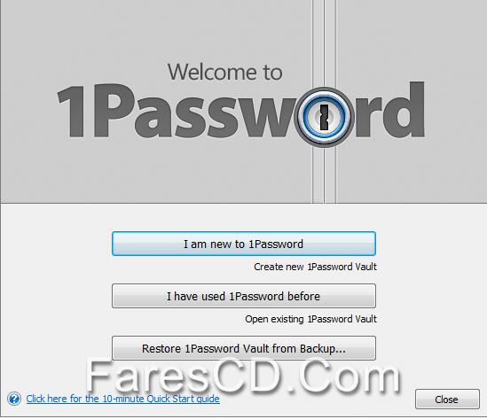 برنامج حماية كلمات السر على الويندوز | 1Password 7.3.684