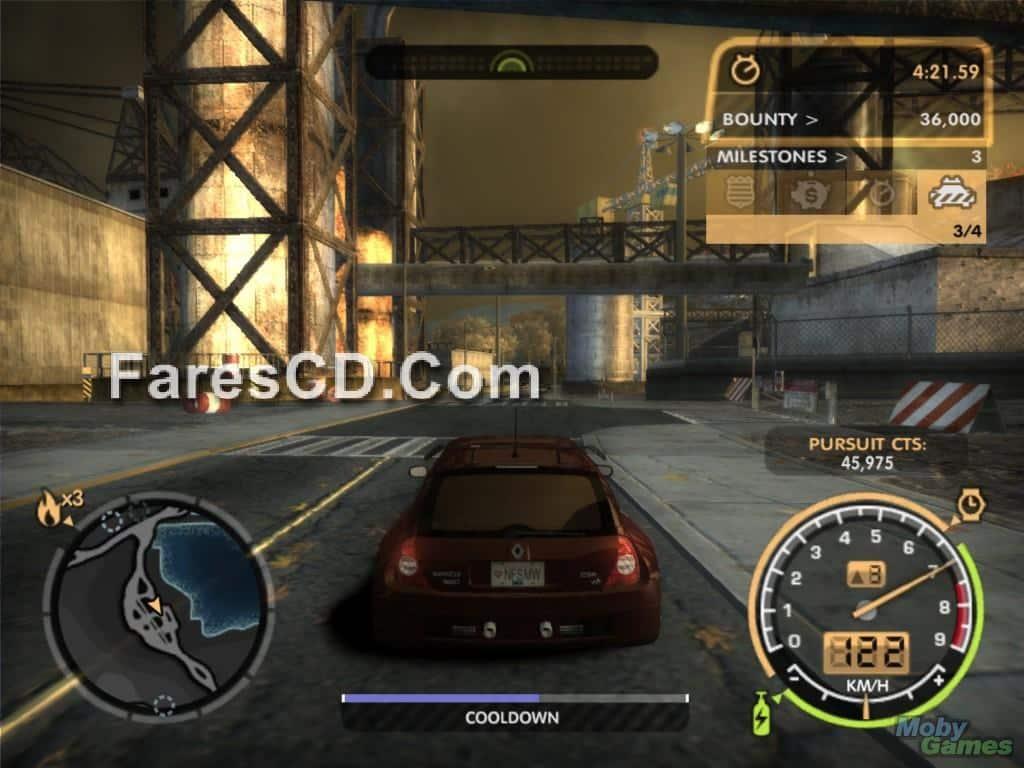 لعبة Need For Speed Most Wanted بمساحة 550 ميجا (3)