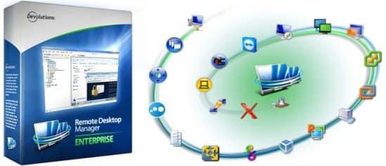 برنامج التحكم فى الكومبيوتر عن بعد   Remote Desktop Manager Enterprise 10.5.6