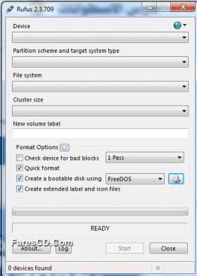 برنامج نسخ الويندوز على الفلاشة | Rufus 2.3.709 Final Portable