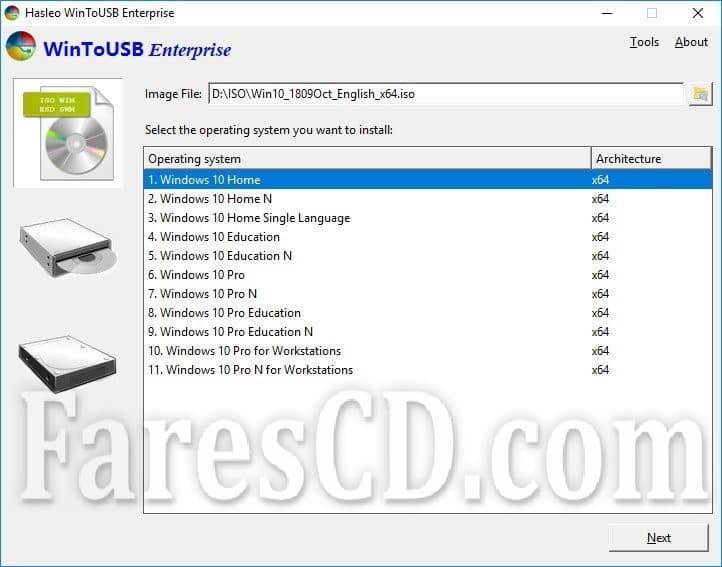 برنامج نسخ الويندوز على فلاشة | WinToUSB Professional Technician