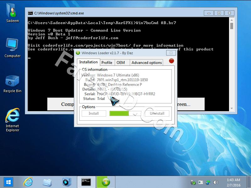 windows 7 aero blue lite edition 2016 x64 iso