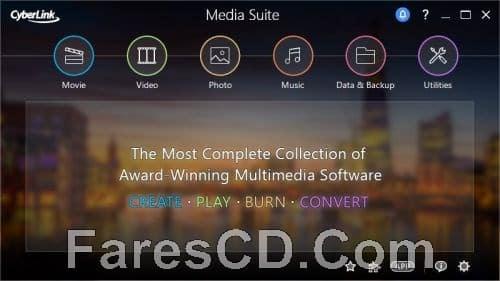 تجميعة برامج سيبر لينك للمالتيميديا  CyberLink Media Suite Ultra 13.0.0713.0 Retail (2)