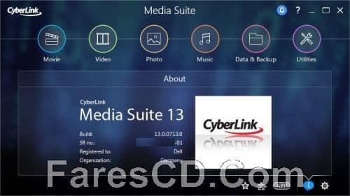 تجميعة برامج سيبر لينك للمالتيميديا  CyberLink Media Suite Ultra 13.0.0713.0 Retail (3)