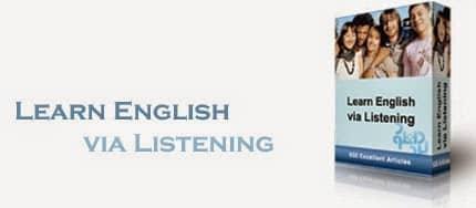 الكورس الصوتى لتعليم الإنجليزية Learn English Via Listening