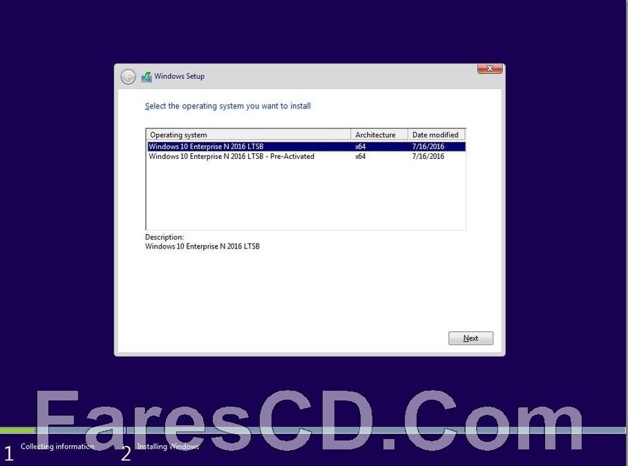 ويندوز 10 إنتربرايز بتحديثات فبراير | Windows 10 Enterprise LTSB N