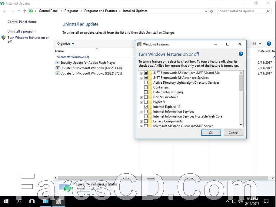 ويندوز 10 إنتربرايز بتحديثات فبراير   Windows 10 Enterprise LTSB N