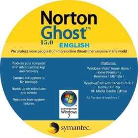 اسطوانة جوست للنسخ الإحتياطى | Norton Ghost 15.0.0.35659 Boot CD