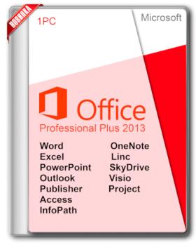 Microsoft Office 2013 Sp1 Professional Plus + Visio Pro + Project Pro 15.0.4937.1000 June 2017