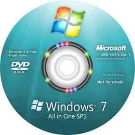Microsoft Windows 7 Aio SP1 (x86/x64) Multilanguage June 2017 Full Activated